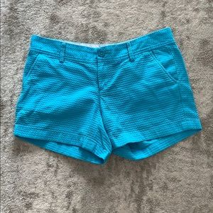 NWOT Lilly Pulitzer blue texture Callahan short 8